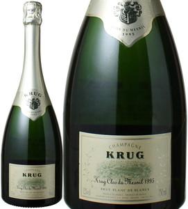 クリュッグ クロ・デュ・メニル 1995 白  Krug Clos De Mesnil   スピード出荷