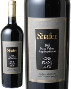 シェーファー カベルネ・ソーヴィニヨン ワン・ポイント・ファイブ 2016 赤  Shafer Cabernet Sauvignon