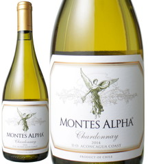 モンテス・アルファ シャルドネ 750ml 2018 白 Montes Alpha  Chardonnay   スピード出荷