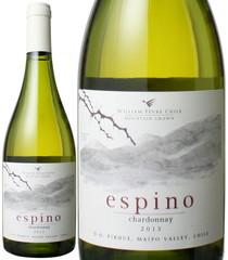 エスピノ シャルドネ 2017 ビーニャ・ウィリアム・フェーヴル 白  Espino Chardonnay / William Fevre Chile  スピード出荷