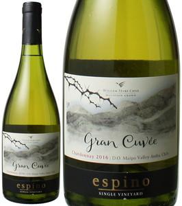 エスピノ シャルドネ グラン・キュヴェ 2016 ビーニャ・ウィリアム・フェーヴル 白 Chardonnay Gran Cuvee / William Fevre Chile  スピード出荷