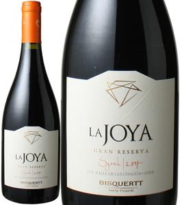 ラ・ホヤ グラン・レゼルヴァ シラー 2018 ビスケルト 赤   La Joya Gran Reserva Syrah / Bisquertt   スピード出荷