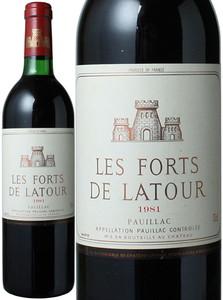 レ・フォール・ド・ラトゥール 1981 赤  Les Forts de Latour  スピード出荷