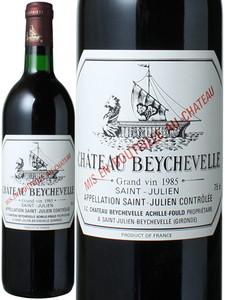 シャトー・ベイシュヴェル 1985 赤  Chateau Beychevelle   スピード出荷