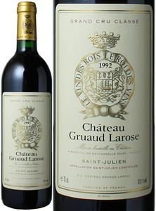 シャトー・グリュオー・ラローズ 1992 赤  Chateau Gruaud Larose  スピード出荷