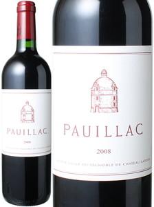 ポイヤック・ド・ラトゥール 2008 赤  Pauillac de Latour  スピード出荷