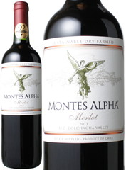 モンテス・アルファ メルロー 750ml 2018 赤 Montes Alpha Merlot   スピード出荷 ※ヴィンテージが異なる場合があります。