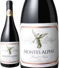モンテス・アルファ ピノ・ノワール 2019 赤※ヴィンテージが変更になる場合がございます。 Montes Alpha Pinot Noir   スピード出荷