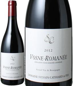ヴォーヌ・ロマネ 2012 シルヴァン・カティアール 赤  Vosne Romanee / Sylvain Cathiard  スピード出荷