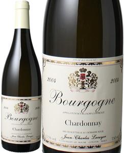 ブルゴーニュ シャルドネ 2004 ジャン・シャルル・ルクイエ 白  Bourgogne Chardonnay / Jean Charles Lecuyer  スピード出荷
