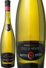 コート・ド・プロヴァンス・ブラン カルト・ノワール 2014 レ・メーテル・ヴィニェロン 白 Carte Noire Cotes de Provence Blanc / Les Maitres Vignerons  スピード出荷