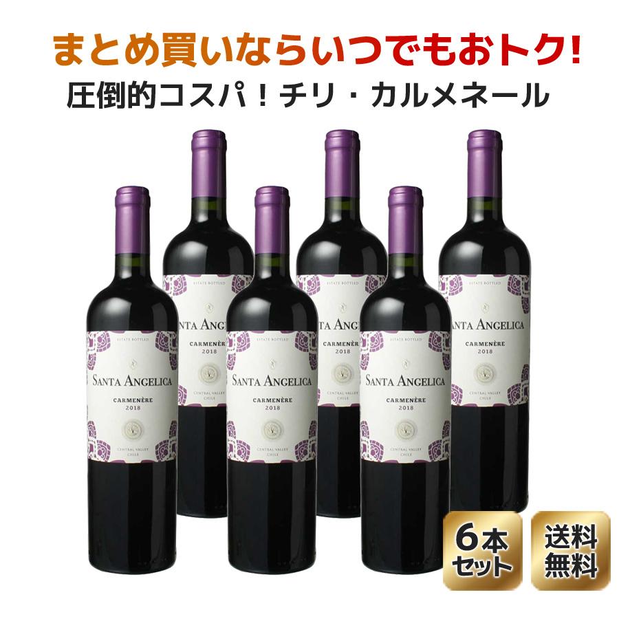 【送料無料】サンタ・アンジェリカ カルメネール [2019] ラヴァナル 1ケース9本セット <赤> <ワイン/チリ>