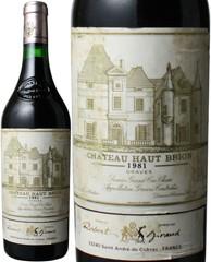 シャトー・オー・ブリオン 1981 赤  Chateau Haut Brion 1981   スピード出荷