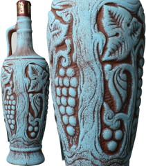 サペラヴィ 陶器ボトル 2015 赤  Saperavi  スピード出荷