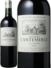 シャトー・カントメルル 2012 赤  Chateau Cantemerle 2012  スピード出荷