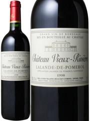 シャトー・ヴィユー・リヴィエール 1998 赤  Chateau Vieux Riviere 1998  スピード出荷