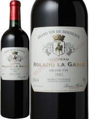 シャトー・ローラン・ラ・ギャルド グラン・ヴァン 2002 赤  Chateau Roland La Garde Grand Vin  スピード出荷
