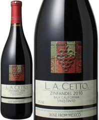 ラセット ジンファンデル [2016] <赤> <ワイン/メキシコ> L.A.Cetto Zinfandel   スピード出荷