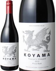 ピノ・ノワール ピアソンズ・ヴィンヤード 2014 コヤマ・ワインズ 赤  Pinot Noir Pearson's Vineyard / Koyama Wines  スピード出荷