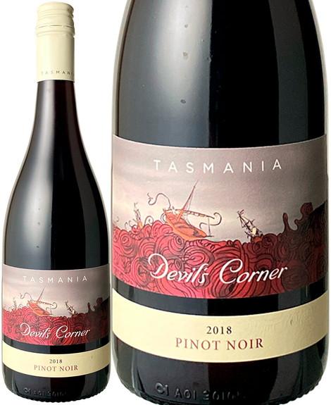 デヴィルズ・コーナー ピノノワール 2018 テイマー・リッジ 赤 Devils Corner Pinot Noir   スピード出荷
