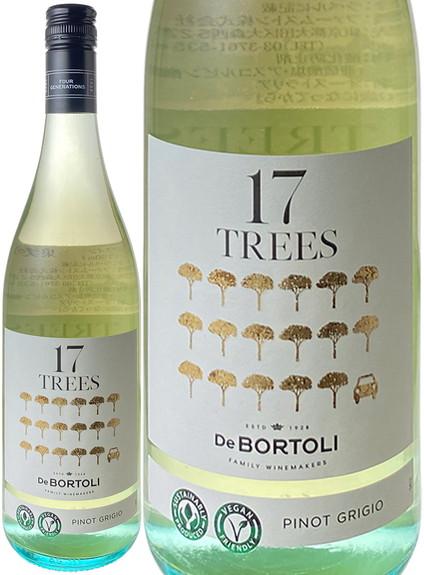 17TREES ピノ・グリージオ サスティナビリティ・ブランド 2020 デ・ボルトリ 白  17TREES Pinot Grigio / De Bortoli  スピード出荷