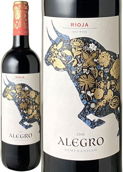 アレグロ・テンプラニーリョ 2016 クリアドーレス・デ・リオハ 赤  Alegro Tempranillo / Criadores d Rioja  スピード出荷