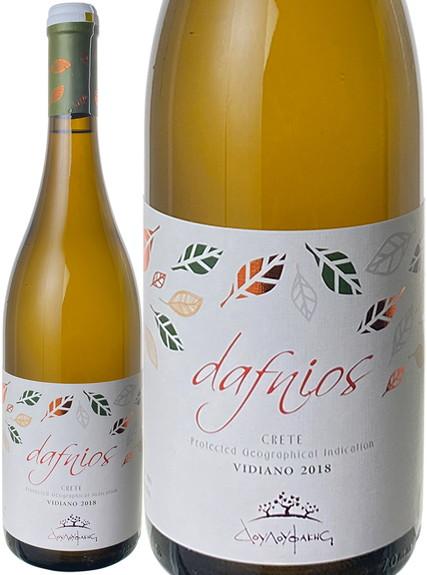 ダフニオス・ホワイト 2018 ドゥルファキス・ワイナリー 白  Dafnios White / Douloufakis Winery  スピード出荷