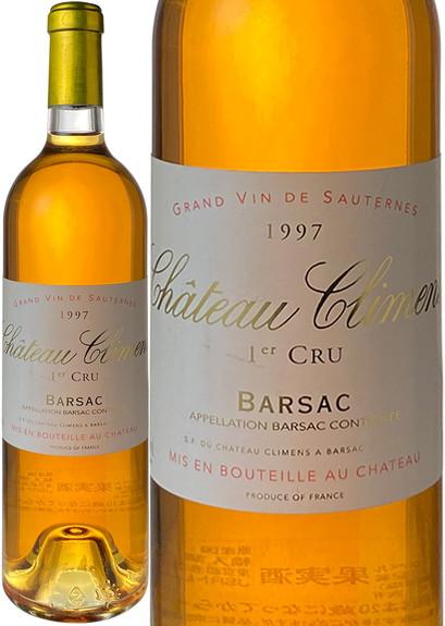 シャトー・クリマン 1997 白※ラベルに多少汚れあり Chateau Climens  スピード出荷