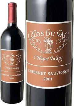 ナパヴァレー カベルネ・ソーヴィニヨン 2001 クロ・デュ・ヴァル 赤 Napa Valley Cabernet Sauvignon / Clos du Val  スピード出荷