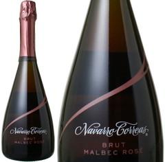 マルベック・ロゼ ブリュット NV ボデガ・ナバロ・コレアス ロゼ  Brut Malbec Rose / Navarra Correas   スピード出荷