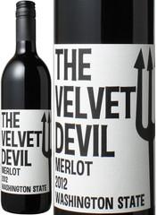 【10月末まで特別価格】ワシントン ザ・ベルベット・デビル メルロー 2016 チャールズ・スミス・ワインズ 赤【当店通常税込2473円】 The Velvet Devil Merlot / Charles Smith Wines  スピード出荷 ※ヴィンテージが異なる場合があります。