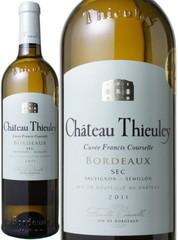 シャトー・ティユレイ キュヴェ・フランシス・クールセル セック 2011 白  Chateau Thieuley Cuvee Francis Courselle Sec   スピード出荷