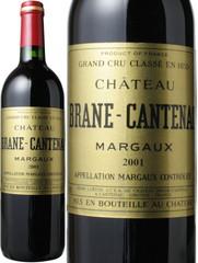 シャトー・ブラーヌ・カントナック 2001 赤  Chateau Brane Cantenac 2001   スピード出荷