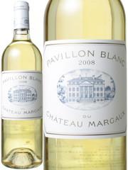 パヴィヨン・ブラン・デュ・シャトー・マルゴー 2008 白  Pavillon Blanc du Chateau Margaux 2008   スピード出荷