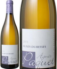オークセイ・デュレス ブラン 2016 アニェス・パケ 白 Auxey Duresses Blanc / Agnes & Sebastien Paquet   スピード出荷