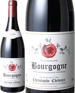 ブルゴーニュ・ルージュ 2018 クリストフ・シュヴォー 赤※ヴィンテージが異なる場合があります。 Bourgogne Rouge / Christophe Chevaux   スピード出荷