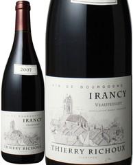 イランシー・ヴォーッペッシオ 2007 ティエリー・リシュー 赤  Irancy Veaupessiot / Thierry Richoux   スピード出荷