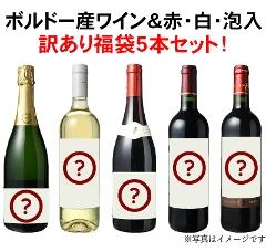 【送料無料】ワインセット アウトレット 福袋 5本 セット 3980円 中身は内緒 中級編 第41弾