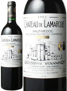シャトー・ド・ラマルク 1983 赤  Chateau De Lamarque  スピード出荷