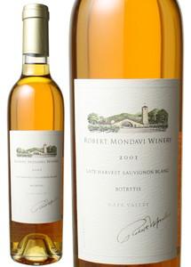 ロバート・モンダヴィ ソーヴィニヨン・ブラン ボトリティス ハーフサイズ 375ml 2001 白  Robert Mondavi Sauvignon Blanc Botrytis   スピード出荷