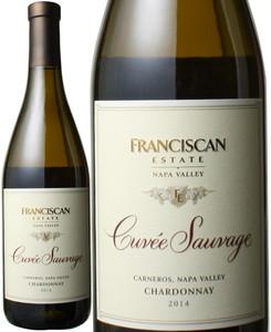 シャルドネ キュヴェ・ソヴァージュ 2014 フランシスカン 白  Chardonnay Cuvee Sauvage / Franciscan   スピード出荷