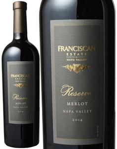 リザーヴ・メルロー 2014 フランシスカン 赤  Reserve Merlot / Franciscan   スピード出荷