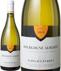 ブルゴーニュ・アリゴテ 2013 オレリアン・ヴェルテ 白  Bourgogne Aligote / Aurelien Verdet  スピード出荷