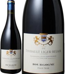 ブルゴーニュ・ピノ・ノワール 2012 ティボー・リジェ・べレール 赤  Bourgogne Pinot Noir / Thibault Liger Belair   スピード出荷