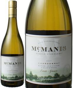 マックマニス シャルドネ 2016 マックマニス・ファミリーヴィンヤード 白  Mcmanis Family Chardonnay  スピード出荷