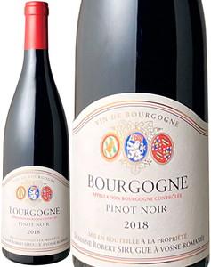 ブルゴーニュ ピノ・ノワール 2018 ロベール・シリュグ 赤 Bourgogne Pinot Noir / Robert Sirugue   スピード出荷