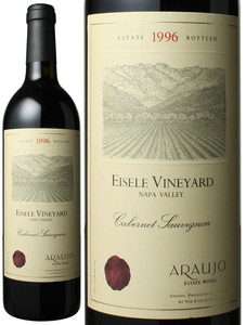 アロウホ カベルネ・ソーヴィニヨン アイズリー・ヴィンヤード 1996 アロウホ・エステート 赤  Araujo Cabernet Sauvignon Eisele Vineyard / Araujo Estate Wines  スピード出荷
