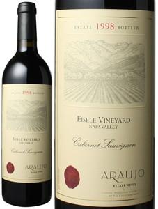 アロウホ カベルネ・ソーヴィニヨン アイズリー・ヴィンヤード 1998 アロウホ・エステート 赤  Araujo Cabernet Sauvignon Eisele Vineyard / Araujo Estate Wines  スピード出荷