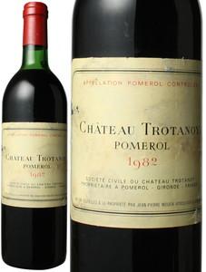 シャトー・トロタノワ 1982 赤  Chateau Trotanoy   スピード出荷