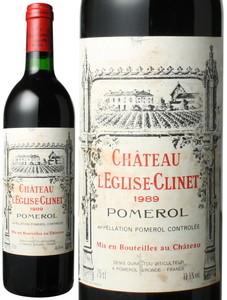 シャトー・レグリーズ・クリネ 1989 赤  Chateau L'Eglise Clinet   スピード出荷